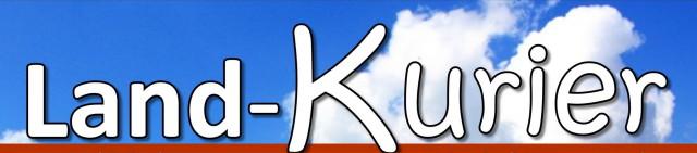 Das Logo des Landkurier. Eine Zeitung die vierteljährlich für die Bewohner der Gemeinde Bötersen ausgegeben wird.