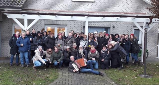 Eiersuchen der Frauen vom 06.01.2018 - Gruppenfoto