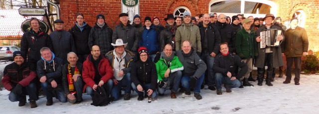 Eiersuchen der Männer vom 14.01.2017 - Gruppenfoto