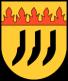 Das Wappen zeigt drei Pflugscharen die für Bötersen, Höperhöfen und Jeerhof stehen. Sie sind schwarz auf gelben Hintergrund